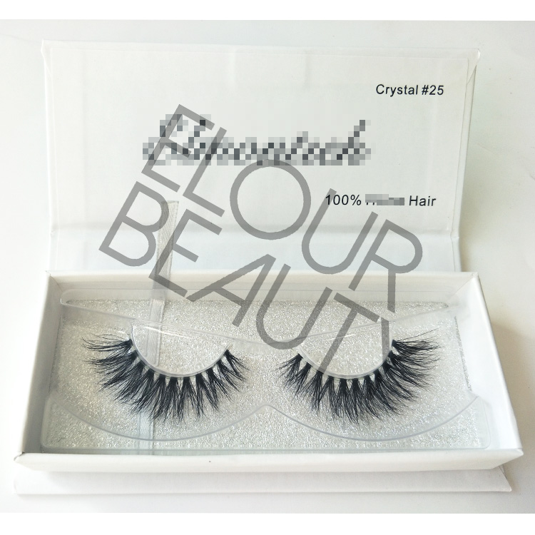 Naked band 3d mink lashes private label hot selling ED17